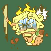 Awkward Zeus sticker #2847852
