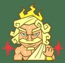 Awkward Zeus sticker #2847853