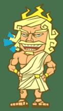 Awkward Zeus sticker #2847855