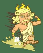 Awkward Zeus sticker #2847859