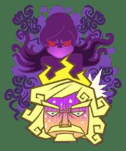 Awkward Zeus sticker #2847860