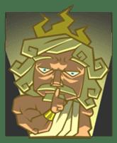 Awkward Zeus sticker #2847861