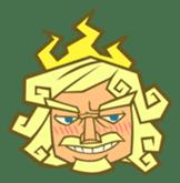 Awkward Zeus sticker #2847863
