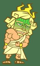 Awkward Zeus sticker #2847865