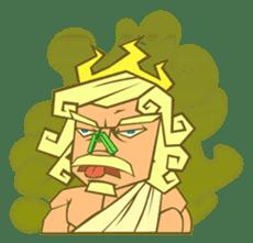 Awkward Zeus sticker #2847866