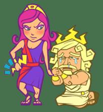 Awkward Zeus sticker #2847873