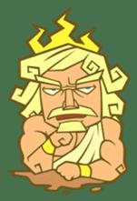 Awkward Zeus sticker #2847874