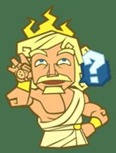 Awkward Zeus sticker #2847875