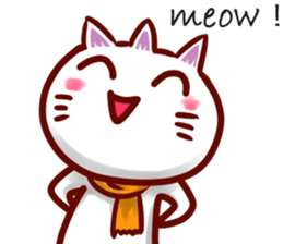 comical cat guy(in English) sticker #2852762
