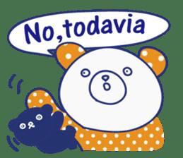 funny cat&cab Spanish sticker #2860691