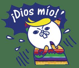 funny cat&cab Spanish sticker #2860692