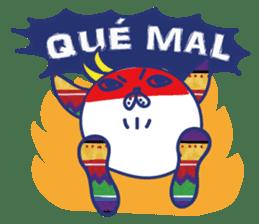 funny cat&cab Spanish sticker #2860693