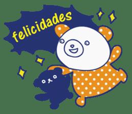 funny cat&cab Spanish sticker #2860695