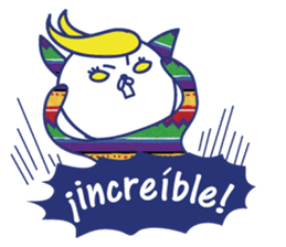 funny cat&cab Spanish sticker #2860696