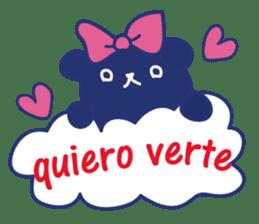 funny cat&cab Spanish sticker #2860705