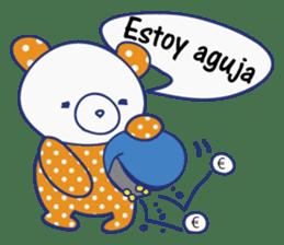 funny cat&cab Spanish sticker #2860721
