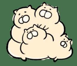 LUCKY CAT!!UN-NYAN sticker #2863608