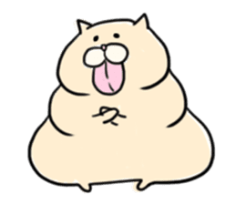 LUCKY CAT!!UN-NYAN sticker #2863615