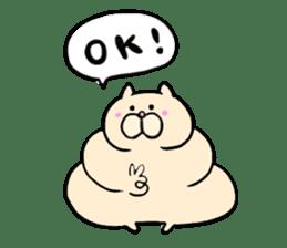 LUCKY CAT!!UN-NYAN sticker #2863636
