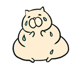 LUCKY CAT!!UN-NYAN sticker #2863638