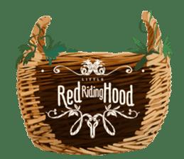 "Little Red riding hood ""Stickers"" sticker #2864201"