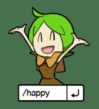 Green Boy Gamer sticker #2867245