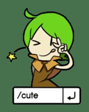 Green Boy Gamer sticker #2867246