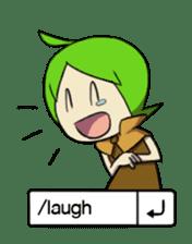 Green Boy Gamer sticker #2867247