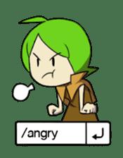 Green Boy Gamer sticker #2867249