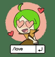 Green Boy Gamer sticker #2867253