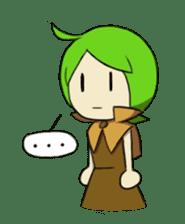 Green Boy Gamer sticker #2867254