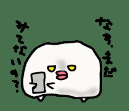 Annoying marshmallow. sticker #2868312