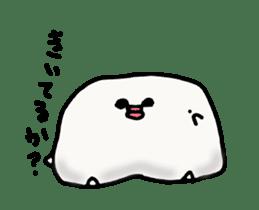 Annoying marshmallow. sticker #2868321
