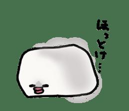 Annoying marshmallow. sticker #2868323
