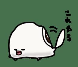 Annoying marshmallow. sticker #2868324