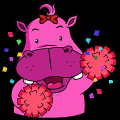 Pinky Hippo - too cute - (EN)
