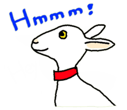 Wonderful goats sticker #2871645