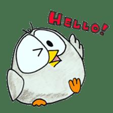 OWL-FOREST sticker #2876331
