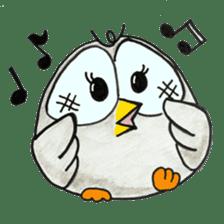OWL-FOREST sticker #2876337