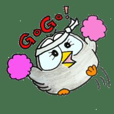 OWL-FOREST sticker #2876338