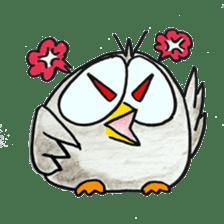 OWL-FOREST sticker #2876339