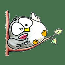 OWL-FOREST sticker #2876350