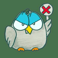OWL-FOREST sticker #2876360