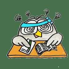 OWL-FOREST sticker #2876362