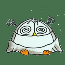 OWL-FOREST sticker #2876365