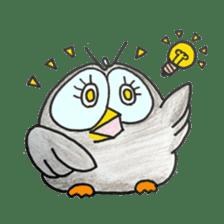 OWL-FOREST sticker #2876367
