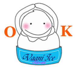 Adorable Vaani Ice sticker #2878119
