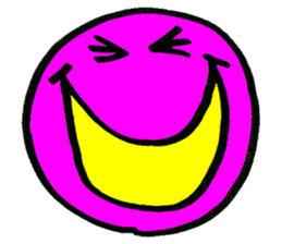 SMILE AND FUNNY FACE. sticker #2885614