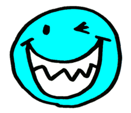 SMILE AND FUNNY FACE. sticker #2885615