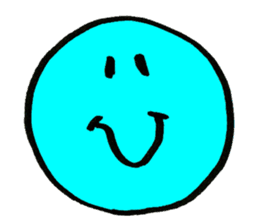 SMILE AND FUNNY FACE. sticker #2885647